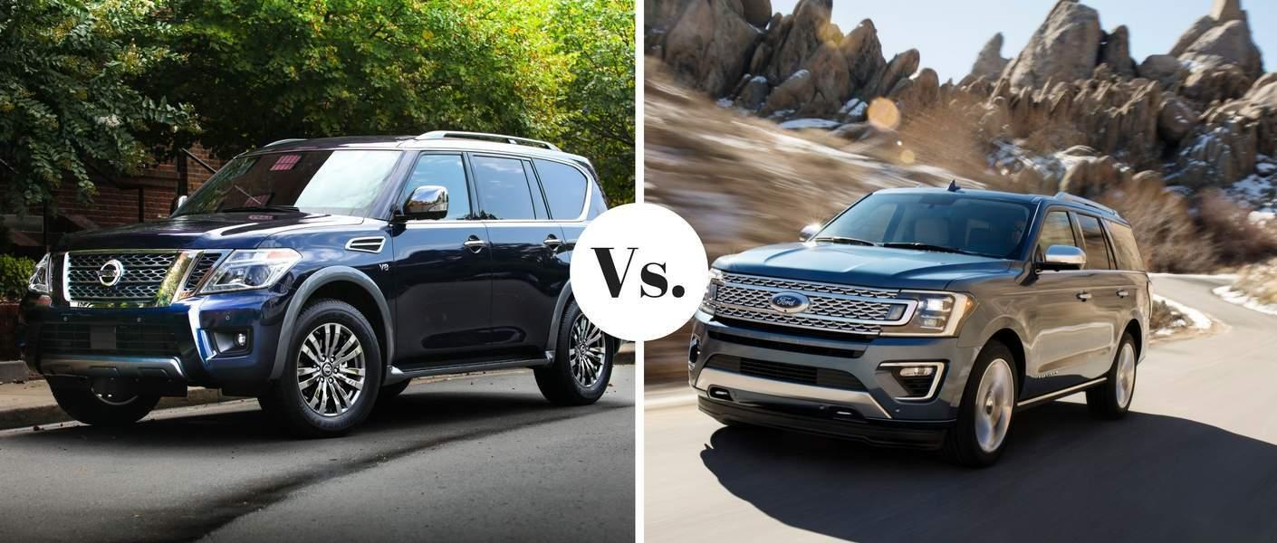 Yuba City Nissan >> 2018 Nissan Armada vs. 2018 Ford Expedition