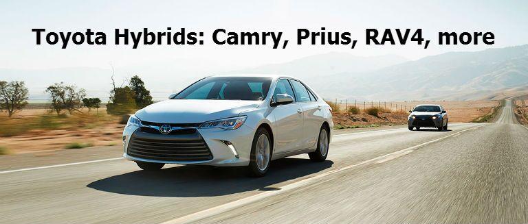 2016 Toyota Hybrids Prius Highlander RAV4 Camry