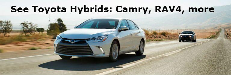2016 Toyota Camry Hybrid 2016 Toyota RAV4 Hybrid 2016 Prius Novato CA