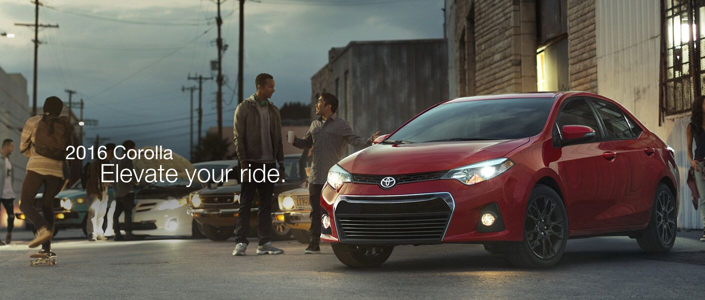2016 Toyota Corolla fuel economy features and fun Novato CA