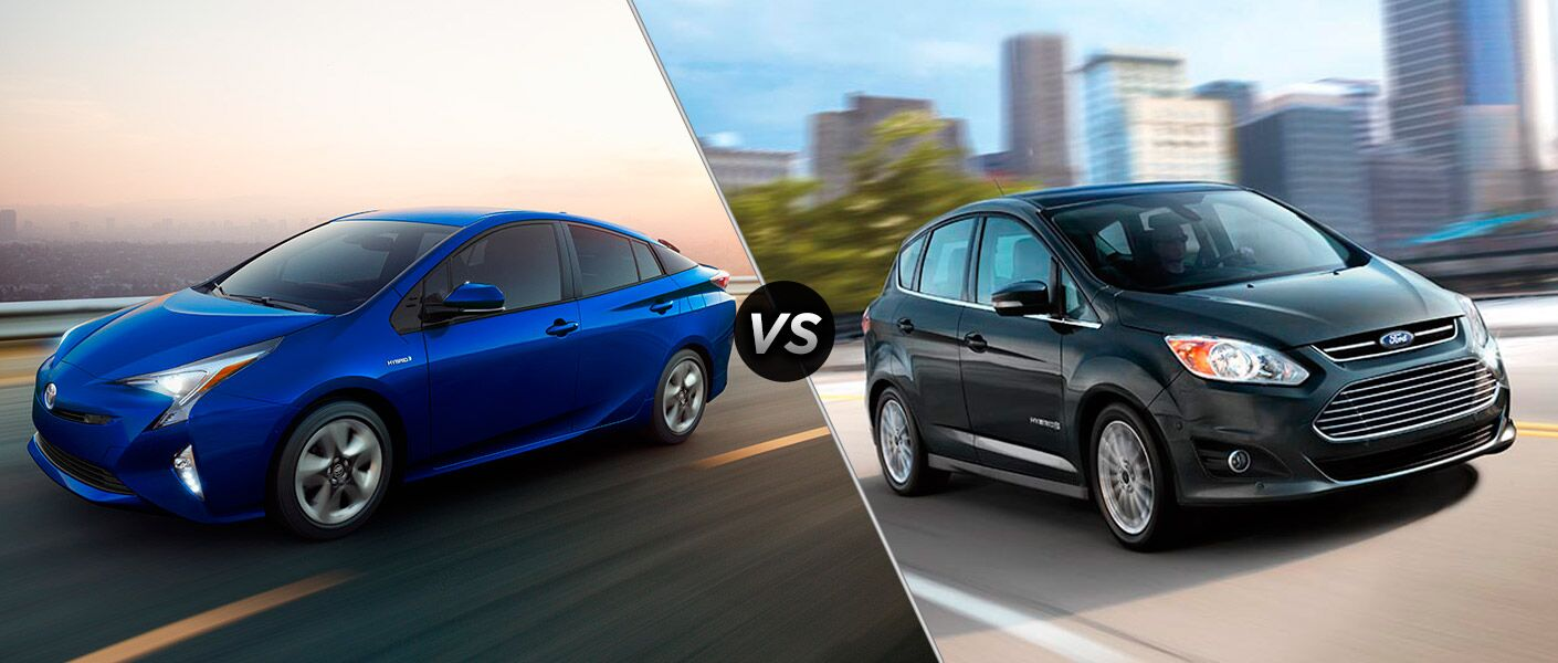 2016 Toyota Prius vs. 2016 Ford C-Max hybrids San Rafael Novato CA