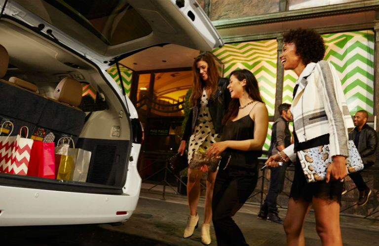 2017 Toyota Sienna cargo room San Rafael CA