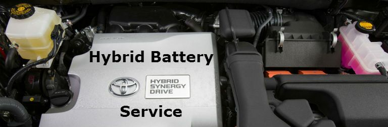 Hybrid battery service Novato CA Toyota Prius Camry Hybrid Highlander Hybrid