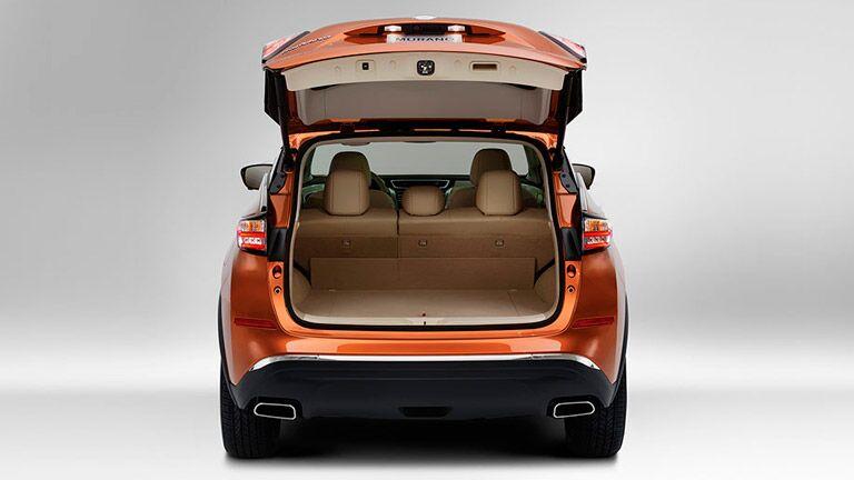 Orange Nissan Murano