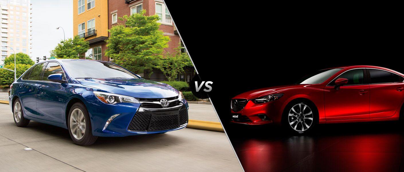 2015 Toyota Camry vs 2015 Mazda 6