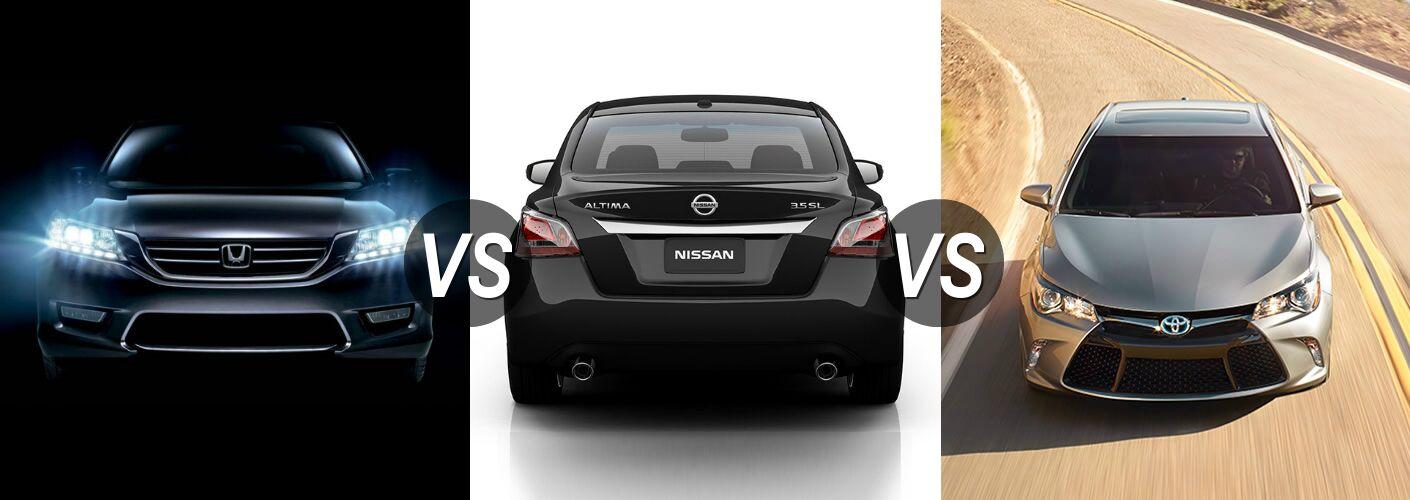 2015 Honda Accord Vs 2015 Nissan Altima Vs