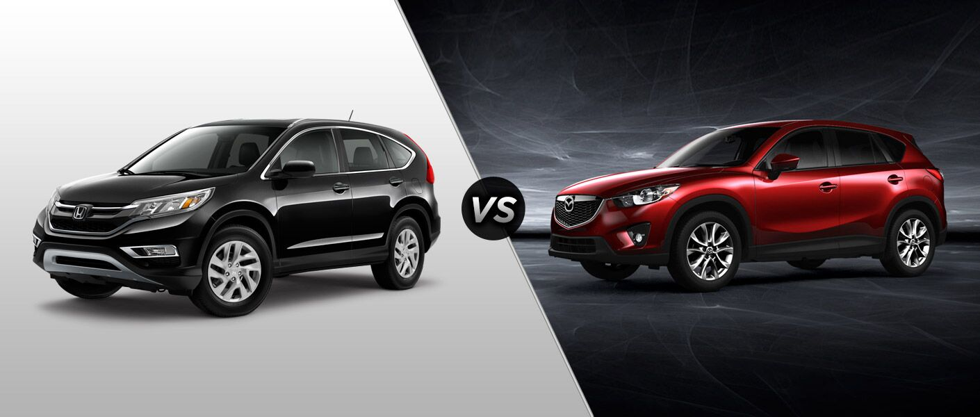 2015 Honda CR-V vs 2015 Mazda CX-5