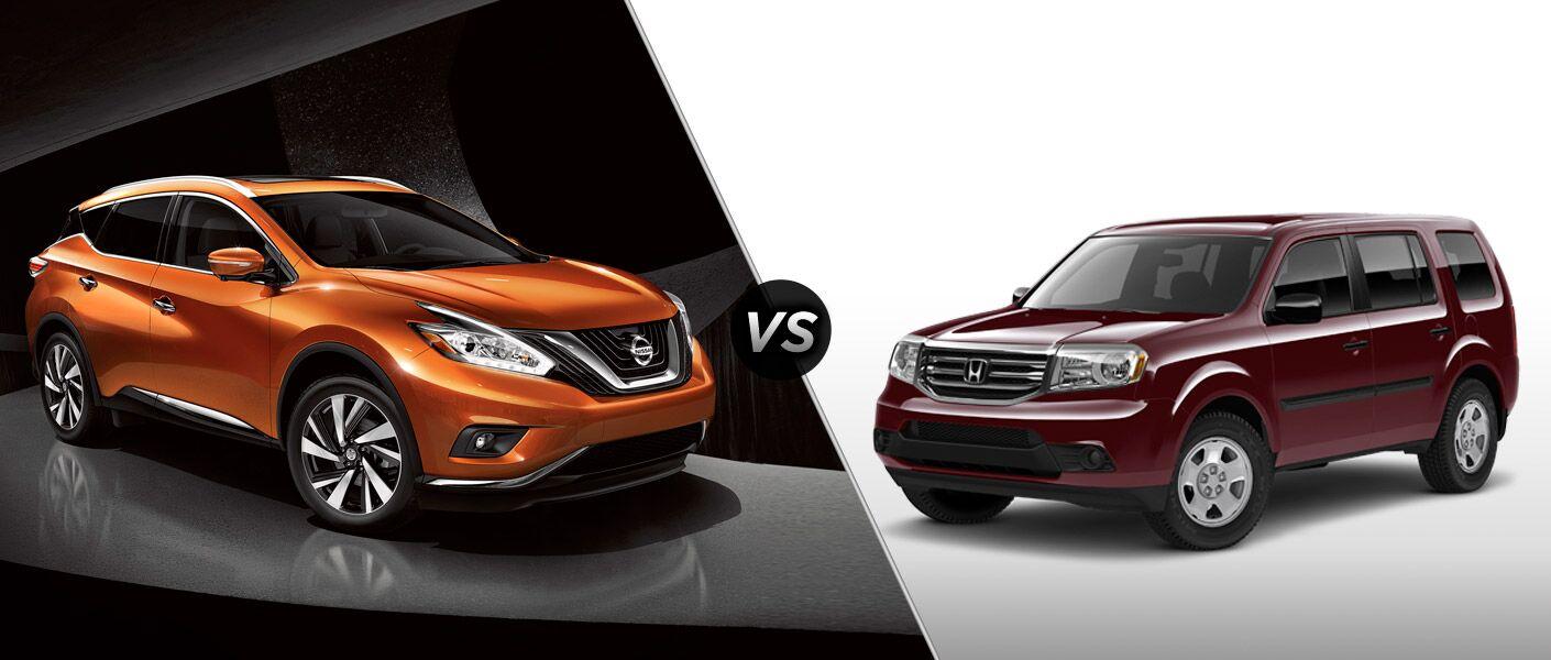 2015 Nissan Murano vs 2015 Honda Pilot