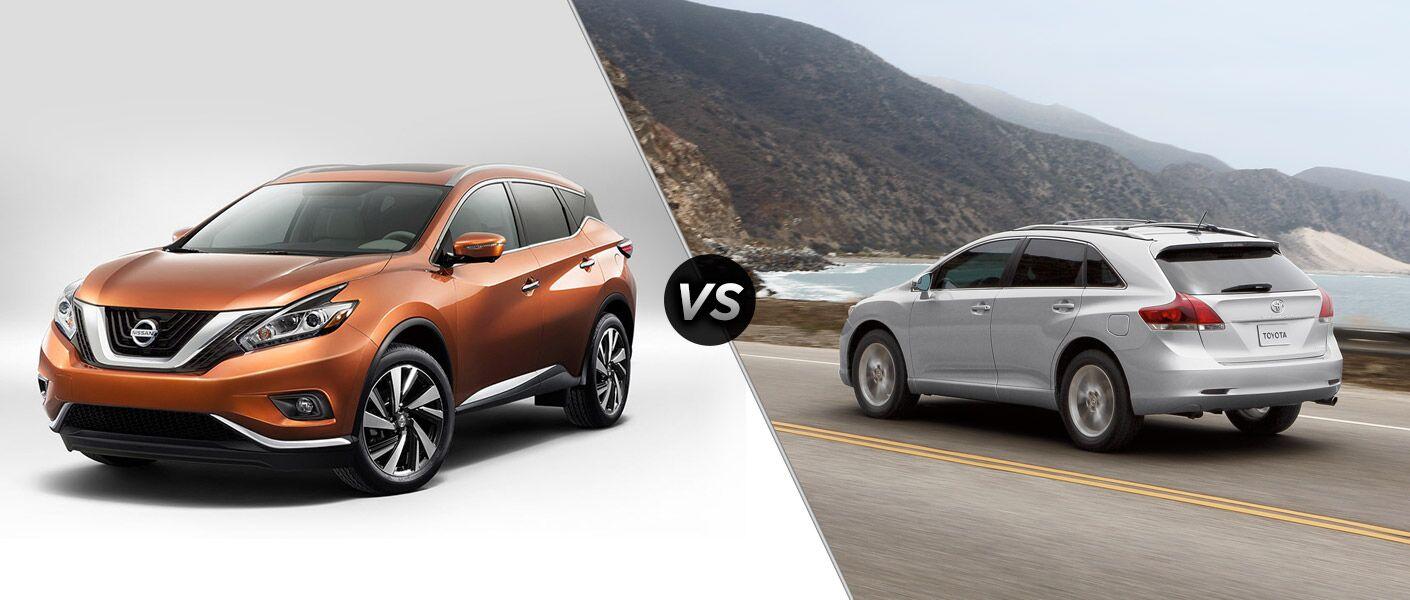 2015 Nissan Murano vs 2015 Toyota Venza