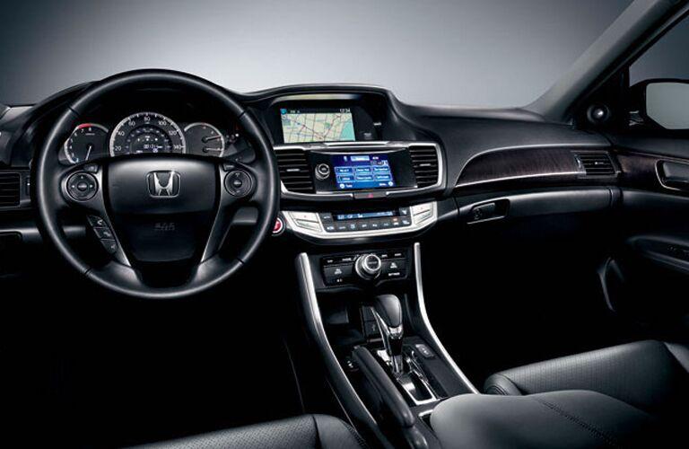 Interior 2015 Honda Accord Sedan vs. 2015 Toyota Camry