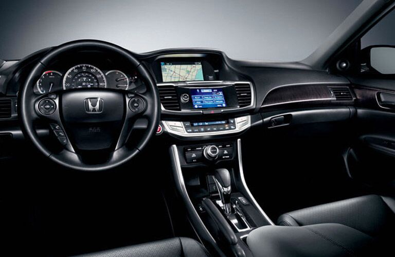 2016 honda accord interior touchscreen seats black hondalink