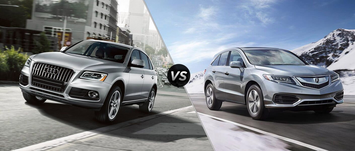 2016 Audi Q5 vs 2016 Acura RDX Continental Motors