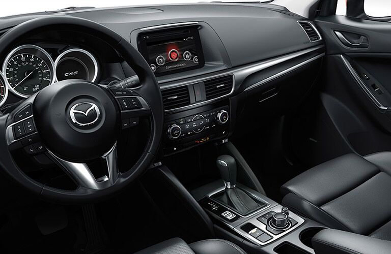 2016 Mazda CX-5 interior seating capacity redesign