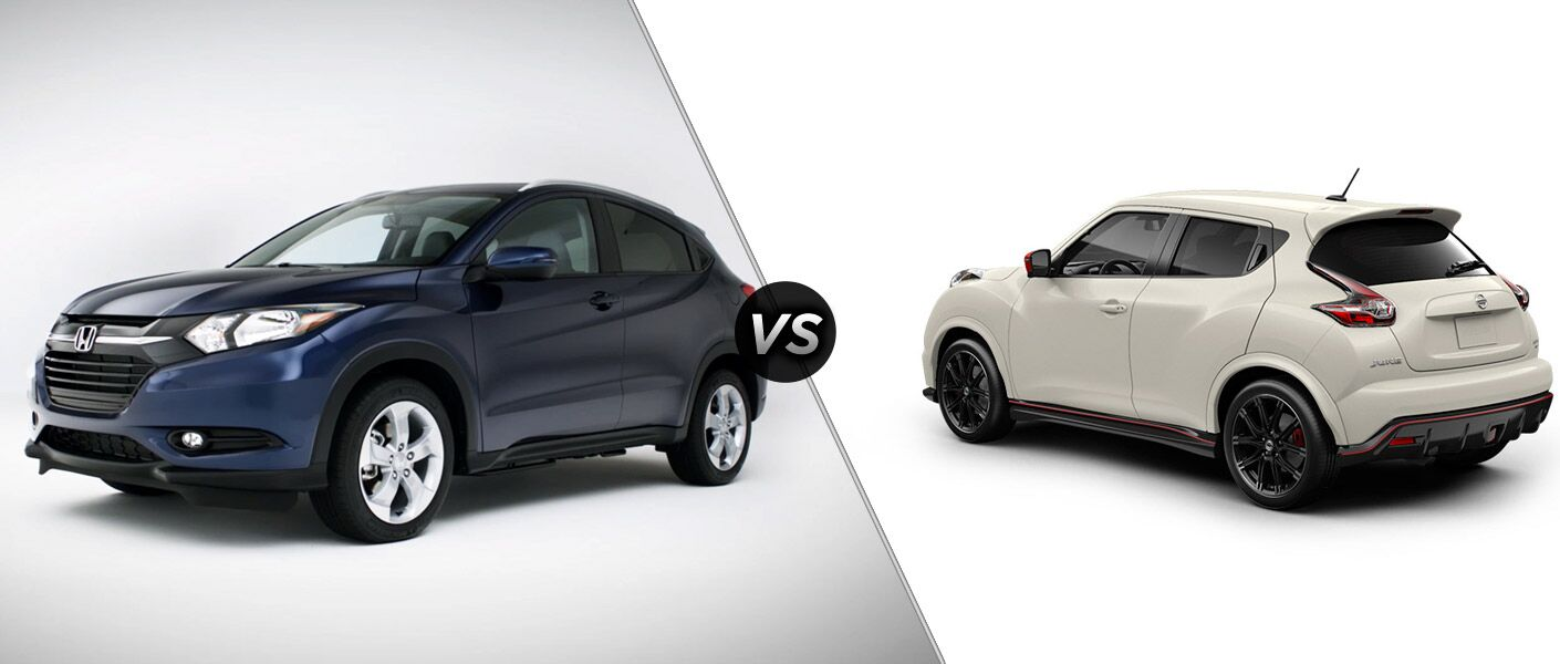 2016 honda hr v vs 2015 nissan juke. Black Bedroom Furniture Sets. Home Design Ideas