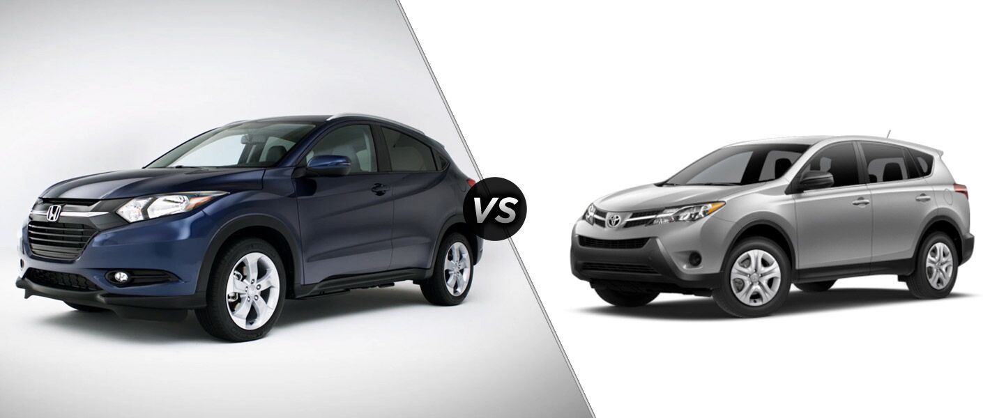 2016 honda hr v vs 2015 toyota rav4 for Honda rav 4