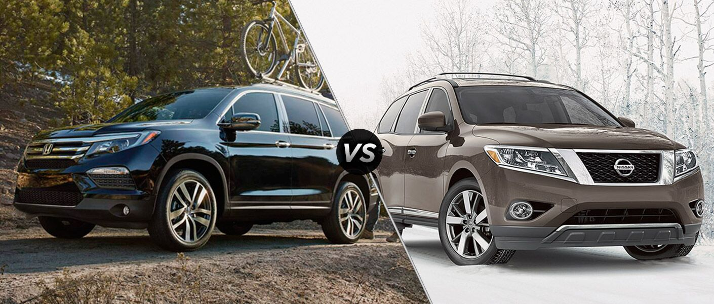 2016 Honda Pilot vs. 2015 Nissan Pathfinder Chicago, IL