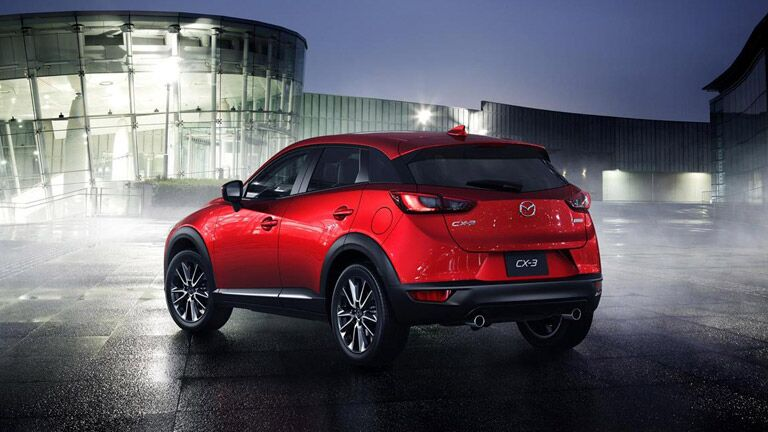 2016 Mazda CX-3 vs 2015 Honda CR-V engine power exterior features