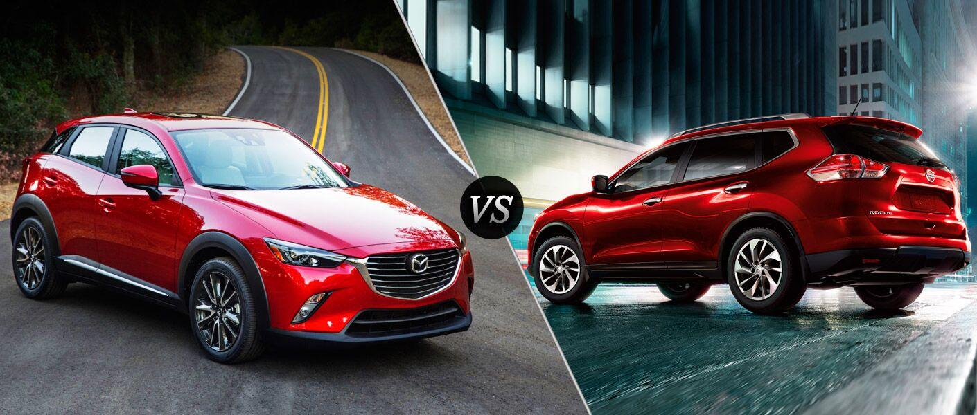 2016 Mazda CX-3 vs 2015 Nissan Rogue