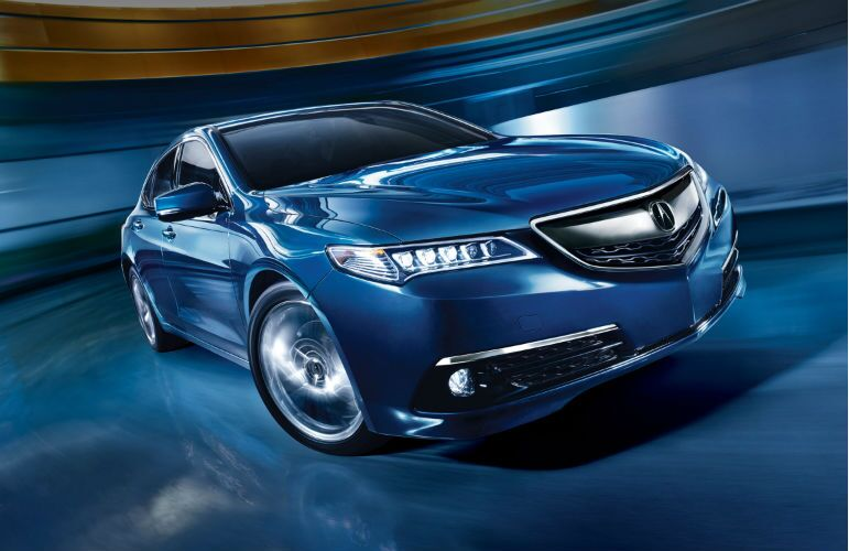 2016 acura tlx exterior blue touchscreen fuel economy