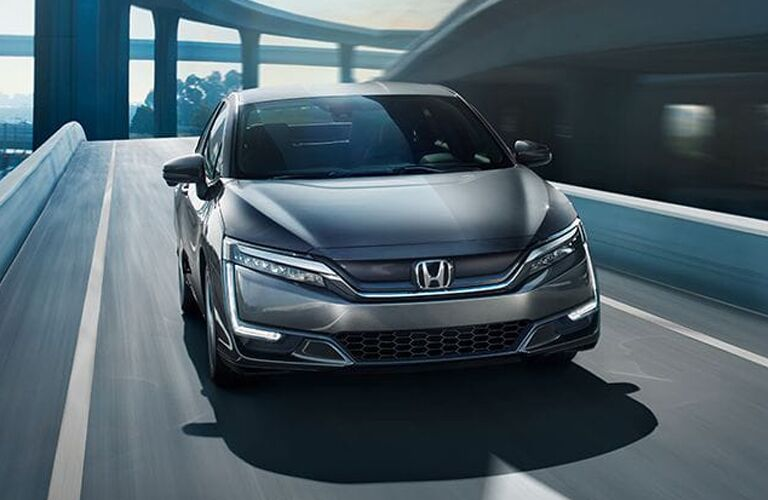 exterior front of the Honda Clarity