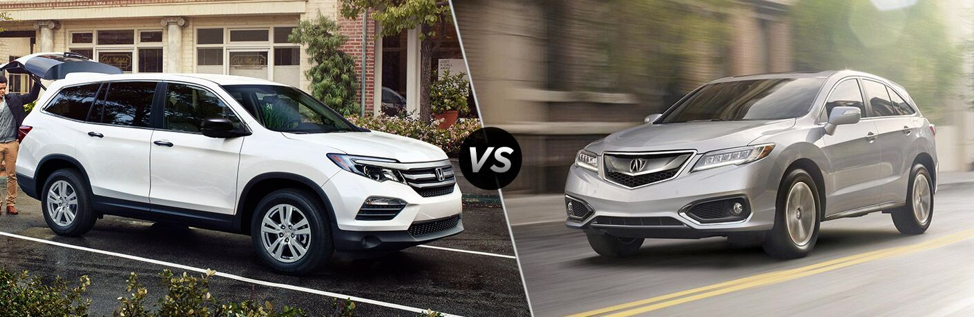 2017 honda pilot vs 2017 acura rdx. Black Bedroom Furniture Sets. Home Design Ideas