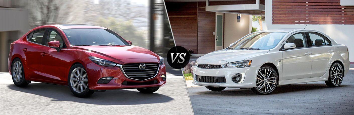 2017 Mazda3 vs. 2017 Mitsubishi Lancer