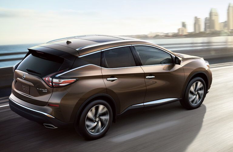 Exterior of the 2017 Nissan Murano