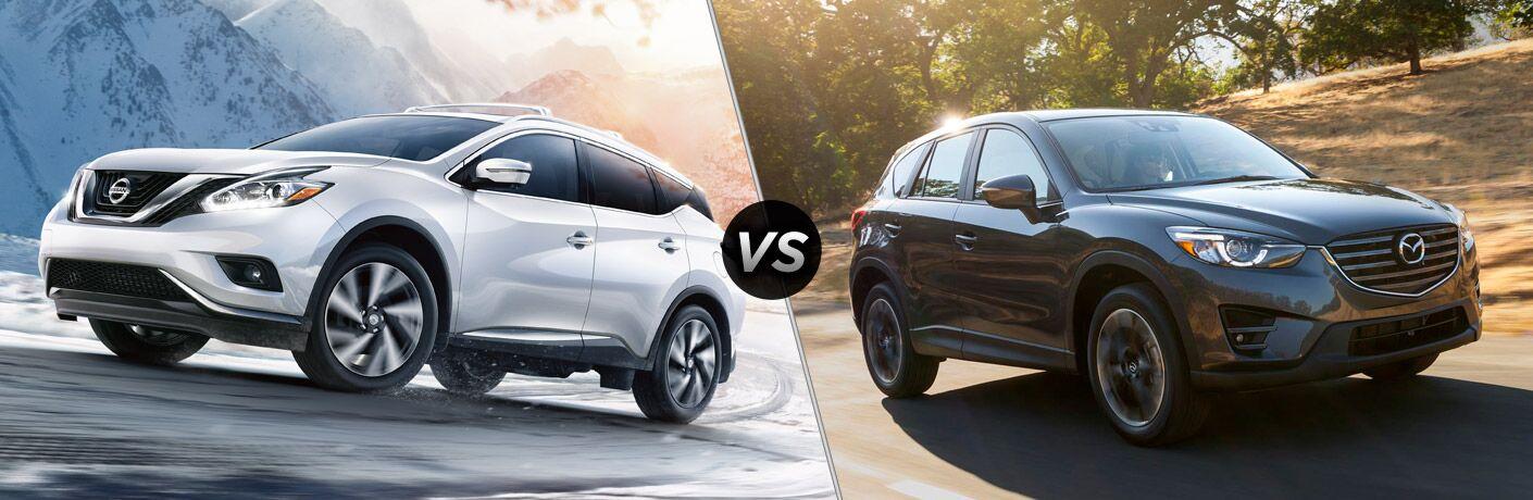 2017 Nissan Murano vs 2017 Mazda CX-5
