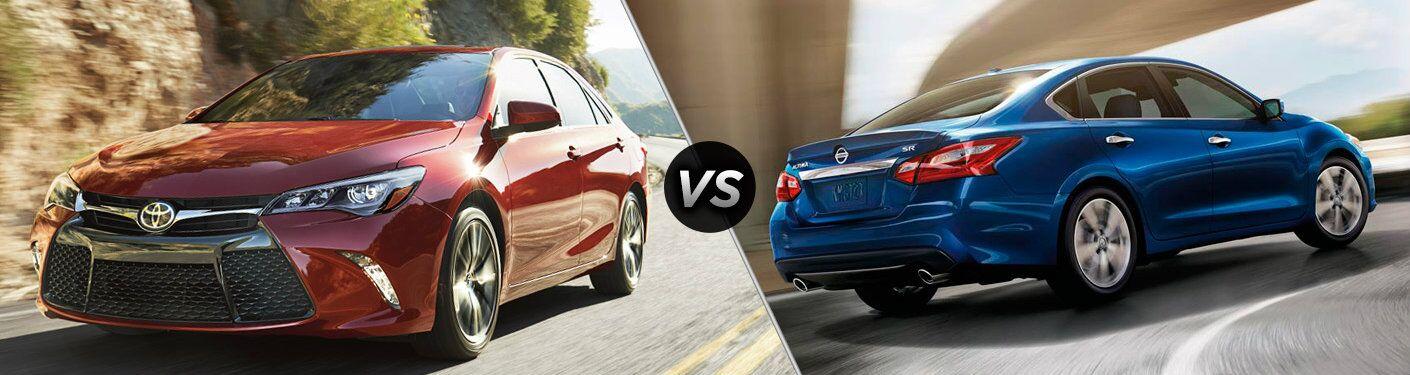 2017 Toyota Camry vs 2017 Nissan Altima