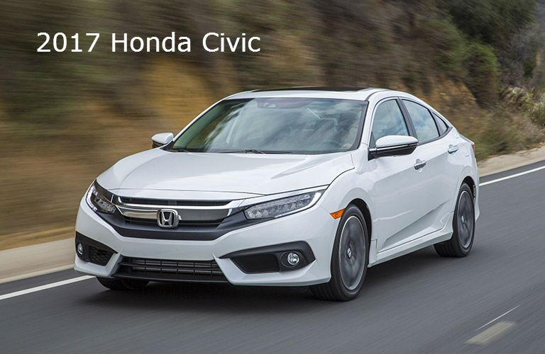 2017 Honda Accord vs 2017 Honda Civic