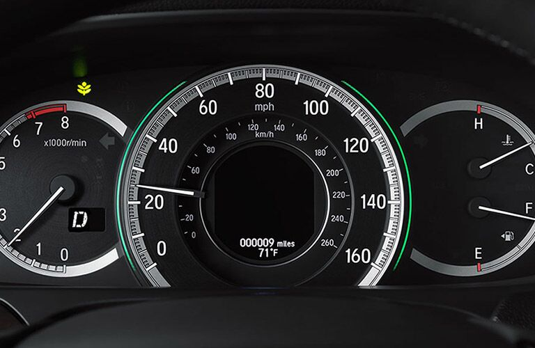2016 Honda Accord instrumentation