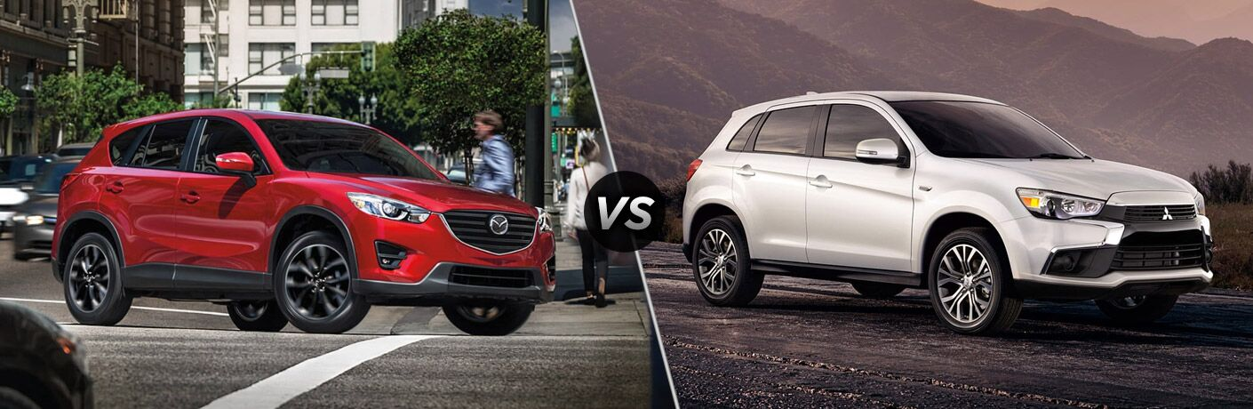 2017 Mazda CX-5 vs. 2017 Mitsubishi Outlander Sport comparison