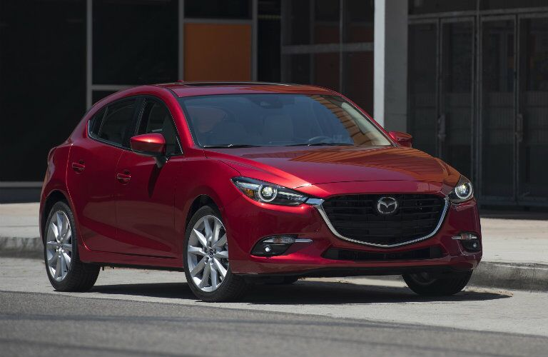 2017 Mazda3 front view