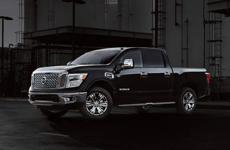 full view of the Nissan Titan