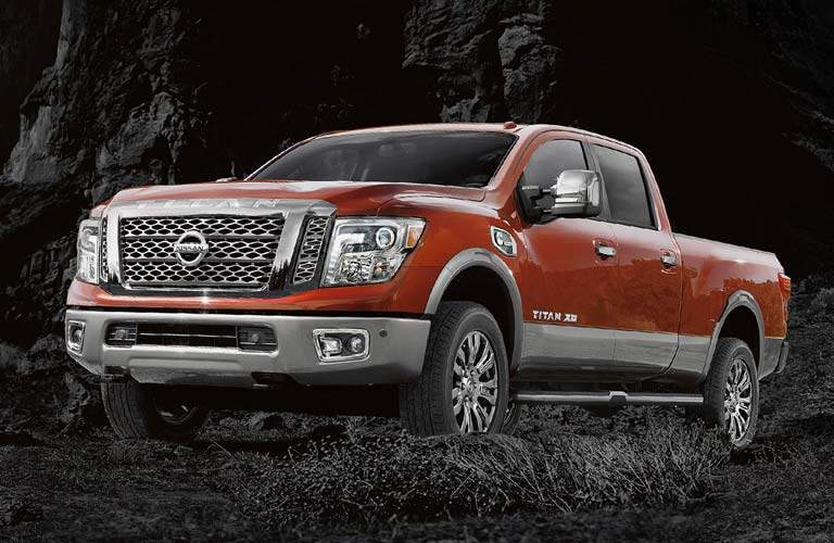 full view of the Nissan Titan XD