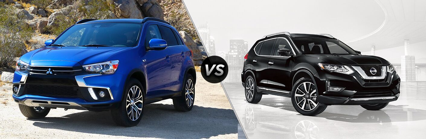 2018 Nissan Rogue Sport vs 2018 Mitsubishi Outlander Sport