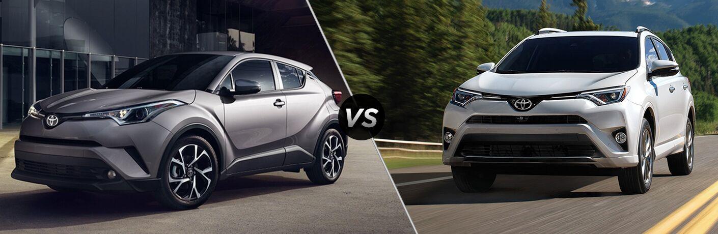 2019 Toyota C-HR vs 2018 Toyota RAV4