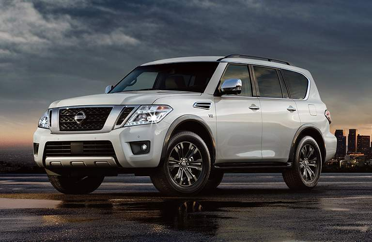 full view of the Nissan Armada