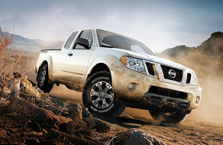 full view of the Nissan Frontier