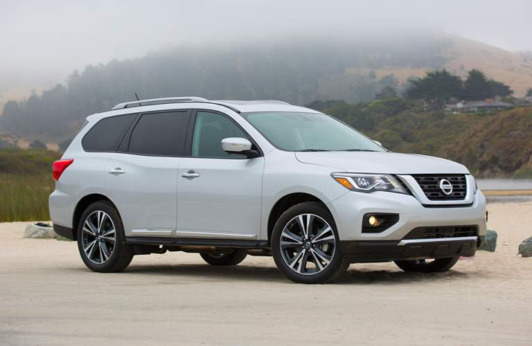 full view of the Nissan Pathfinder