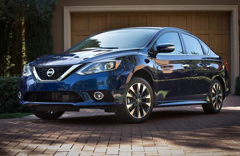 full view of the Nissan Sentra