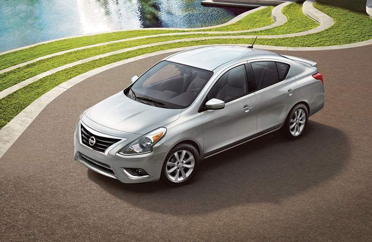 full view of the Nissan Versa