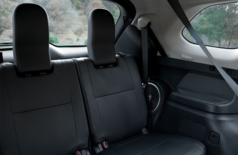 2019 Mitsubishi Outlander second row seating