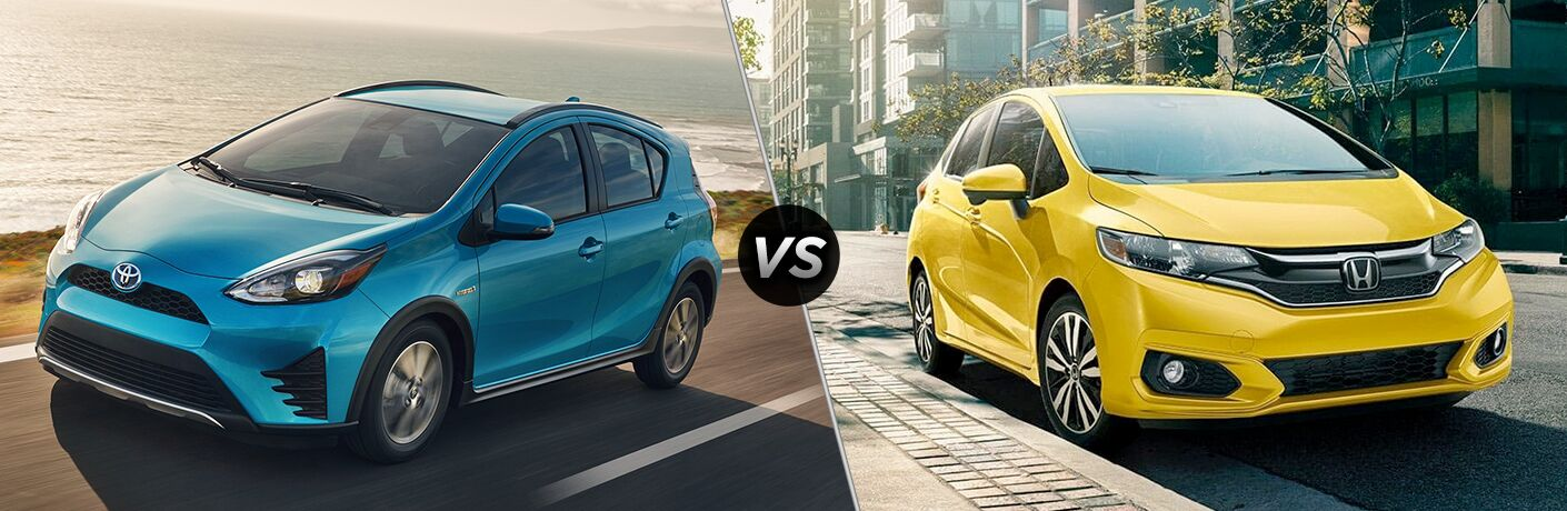 Prius Vs Prius C >> 2019 Toyota Prius C Vs 2019 Honda Fit Continental Motors Group