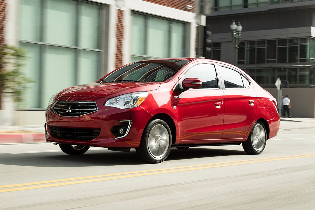 mitsubishi mirage g4 full view