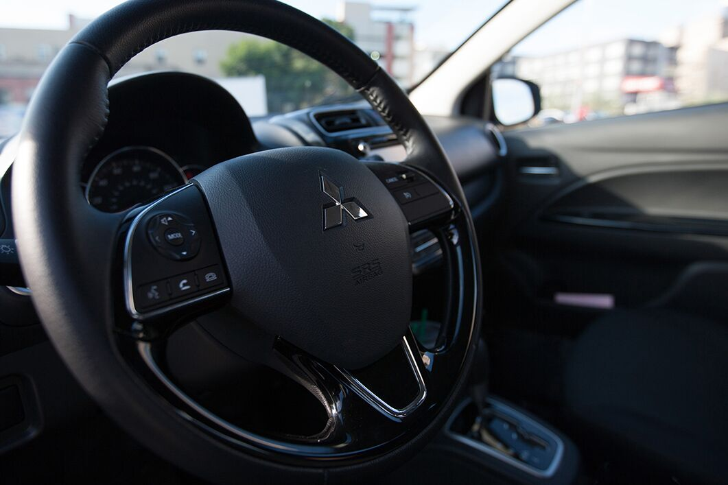 mitsubishi mirage g4 interior front
