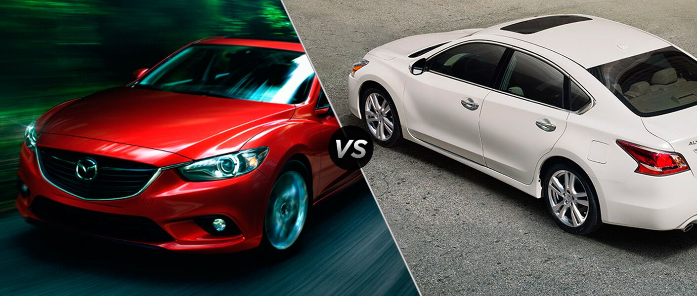 2015 Mazda6 vs 2015 Nissan Altima Chicago Naperville