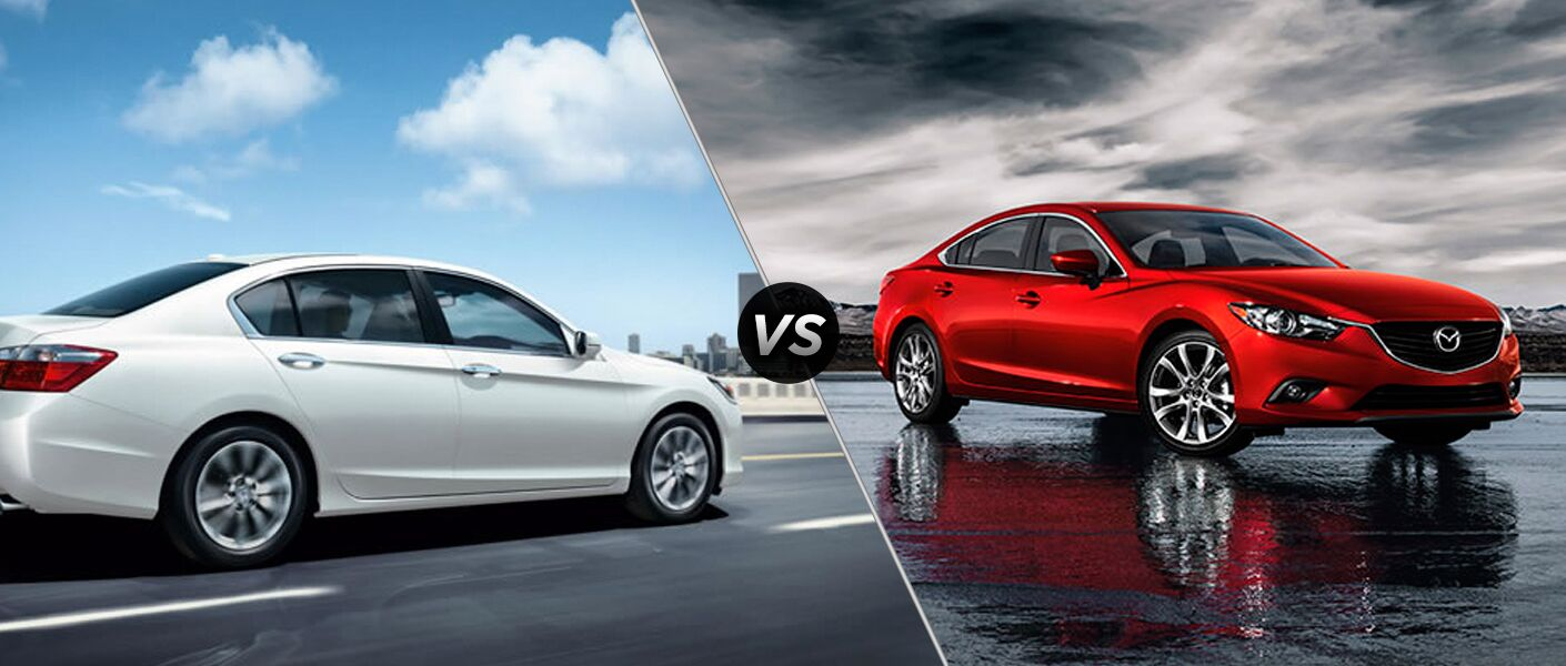 2015 Honda Accord vs 2015 Mazda6 Chicago Naperville