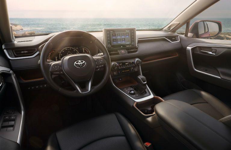 2019 Toyota RAV4 interior front