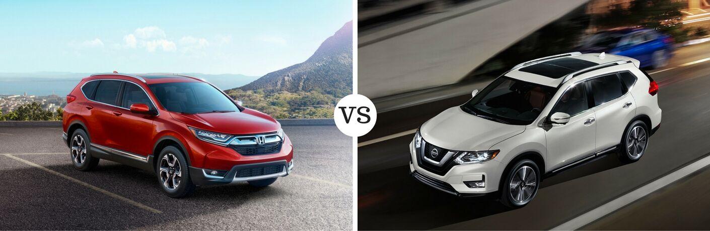 2017 Honda Cr V Vs 2017 Nissan Rogue
